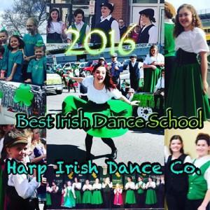 We were awarded Best Irish Dance Entry in the Utah Hibernian Society St. Patrick's Day Parade!